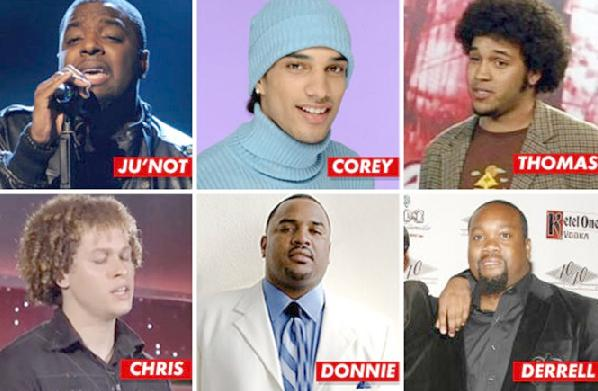 black american idol contestants