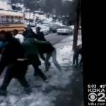 Riot-like Brawl Breaks Out at School Bus Stop in Pennsylvania (Video)