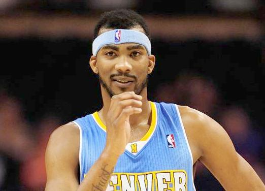 corey brewer (denver nuggets uniform)