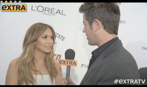 jennifer lopez (interviewed by extra's ben lyons)