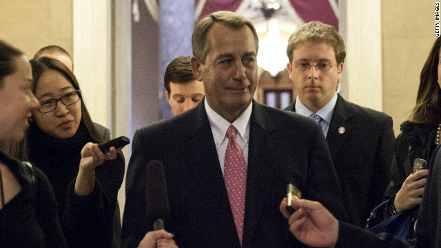 john boehner (talking to reporters)