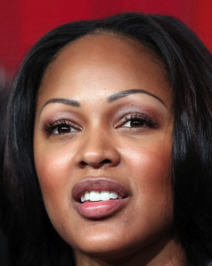 meagan good panel closeup