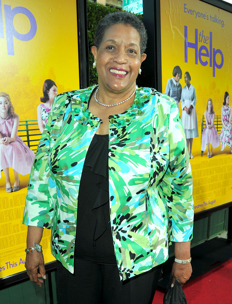 "Activist Myrlie Evers-Williams attends the premiere of DreamWorks Pictures' ""The Help"" held at The Academy of Motion Picture Arts and Sciences, Samuel Goldwyn Theater on August 9, 2011 in Beverly Hills"