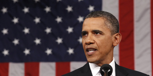 President Barack Obama addresses a joint session of Congress