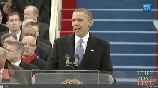 obama (live at inauguration)