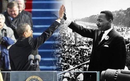 obama & mlk high five