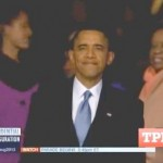 The Obamas Have A Family Moment During the Inauguration (Video)