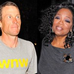 Media Swarms Lance Armstrong's Home Pre-'Oprah' Taping