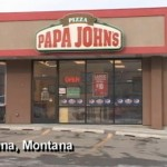 Robber Breaks Down in Tears Accepts Papa John's Pizza for Family (Video)