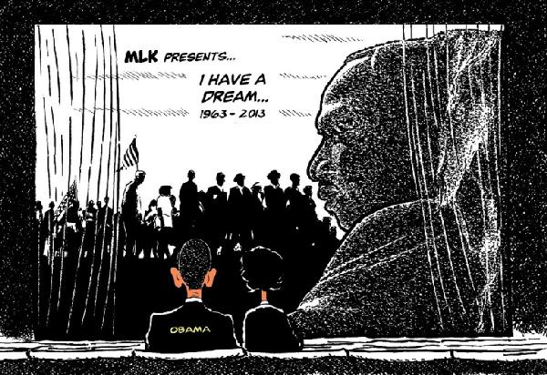 mlk's i have a dream (by tayo fatunla)