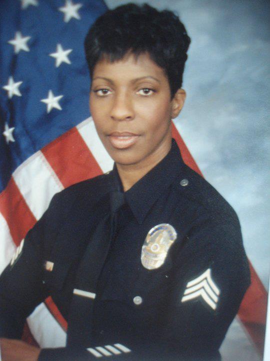 Retired LAPD Sergeant Cheryl Ford Dorsey
