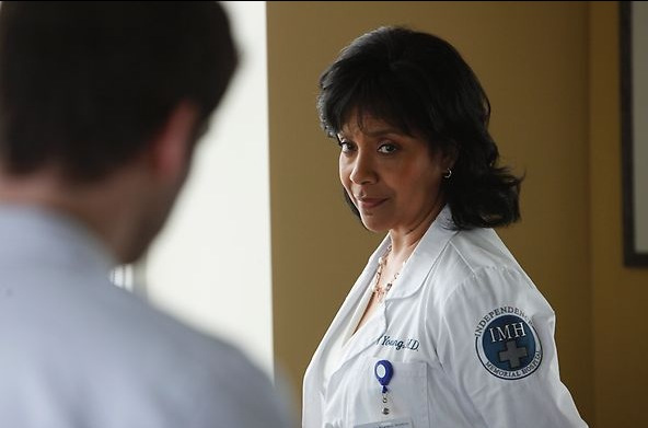 "Phylicia Rashad in a scene from NBC's ""Do No Harm"""