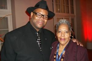 Jimmy Jam and Sandra Ruffin (David's Ex)