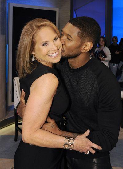 Usher katie couric