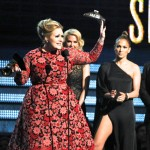 J.Lo Saves Adele from Acceptance Speech Prank (Video)