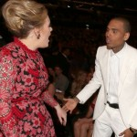 Adele Denies Yelling at Chris Brown During Grammys