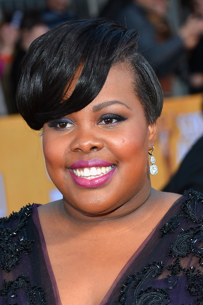"Actress Amber Riley (""Glee"") is 27 today"