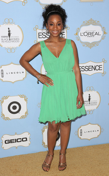 Actress Anika Noni Rose