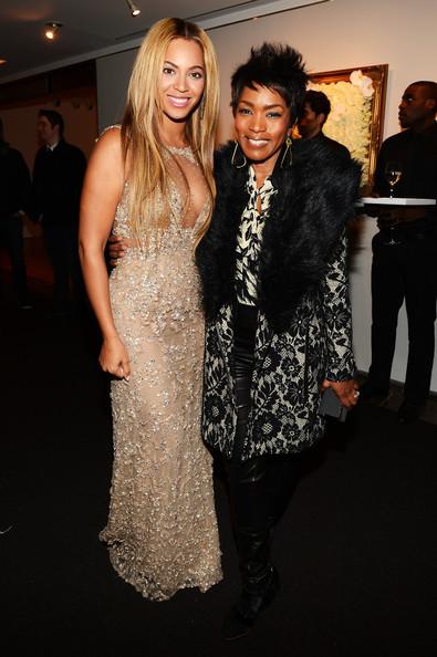 Beyonce and Angela Bassett