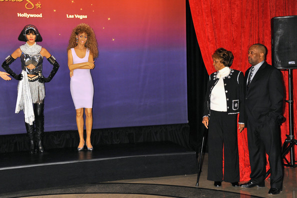 Cissy Houston attends as Madame Tussauds unveils four wax figures of Whitney Houston-- the first time four figures of the same individual have been simultaneously released-- on Feb. 7, 2013 in New York City