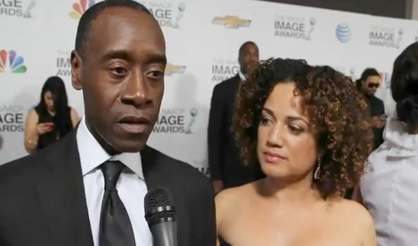 don cheadle (& significant other)