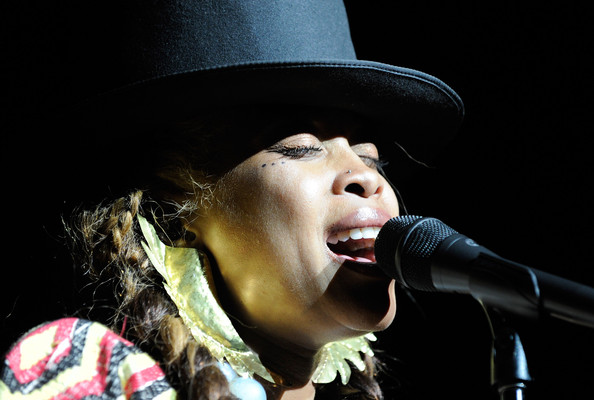 Singer Erykah Badu is 42 today