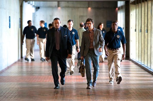 "Laurence Fishburne (L) in a scene from NBC's ""Hannibal"" - Episode 1 ""Apertif"""