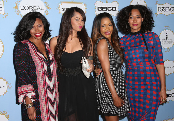Cast of 'Girlfriends' reunite! (L-R) Actresses Jill Marie Jones, Persia White, Golden Brooks and Tracee Ellis Ross attend the Sixth Annual ESSENCE Black Women In Hollywood Awards Luncheon at the Beverly Hills Hotel on February 21, 2013 in Beverly Hills