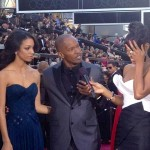 Jamie Foxx Flirts With Kelly Rowland; Daughter Looks Mortified (Video)