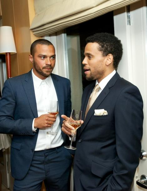 jesse williams & michael ealy