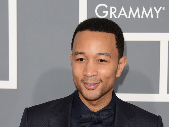 Musician John Legend arrives at the 55th Annual GRAMMY Awards at Staples Center on February 10, 2013 in Los Angeles