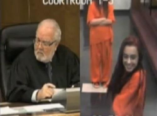 Judge Jorge Rodriguez-Chomat & Penelope Soto