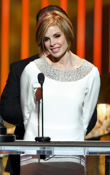 "Producer Kate Forte accepts the Outstanding Motion Picture award for ""The Great Debaters"" onstage during the 39th NAACP Image Awards held at the Shrine Auditorium on February 14, 2008 in Los Angeles"