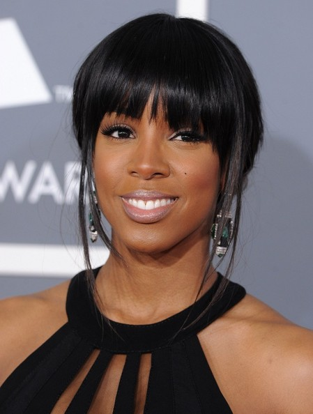Kelly Rowland at the 55th Annual GRAMMY Awards, at the Staples Center, Los Angeles, CA. on Feb. 10, 2013.