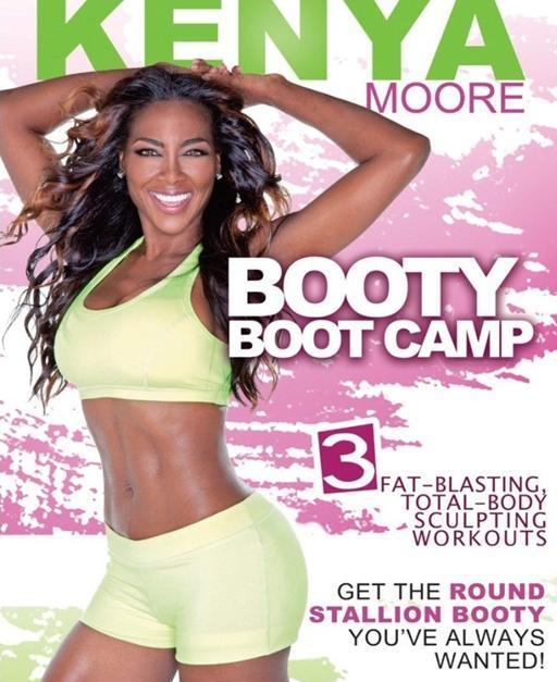 kenya moore booty camp poster