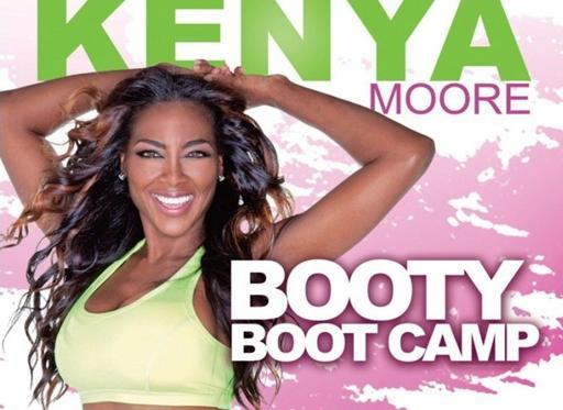 kenya moore booty camp poster1