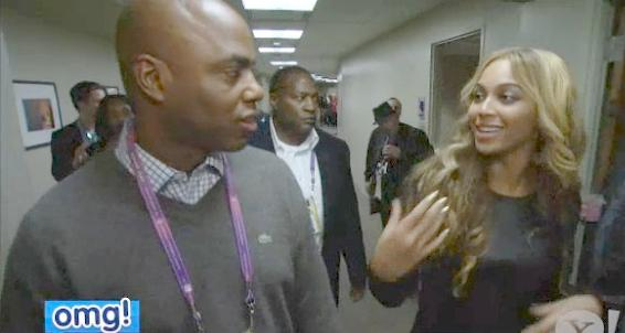 kevin frazier & beyonce