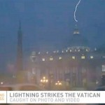 Lightning Strikes the Vatican After Pope Announces Resignation (Video)
