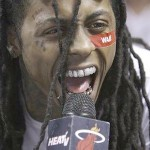 Lil Wayne Disses Miami Heat & Says He Slept with Chris Bosh's Wife (Watch)