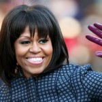 Michelle Obama Tells Rachel Ray 'Midlife Crisis' Reason for Bangs (Watch)