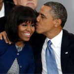 FLOTUS Michelle Obama Reveals Real Reason why Hubby's Hair is Gray