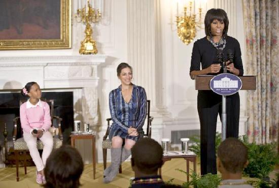 michelle obama & beasts of the southern wild a the white house