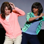 Funny: Michelle Obama and Jimmy Fallon 'Mom Dancing' (Watch)
