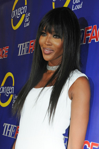 Naomi Campbell attends the series premiere of 'The Face' at Marquee New York in New York City. (February 5, 2013)