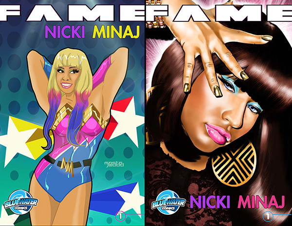 nicki minaj comic book cover