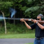 President Obama Shooting A Gun?! Whoa, What's Going on Here?
