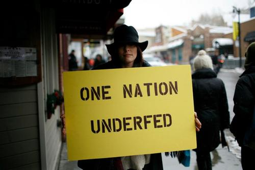 one nation underfed