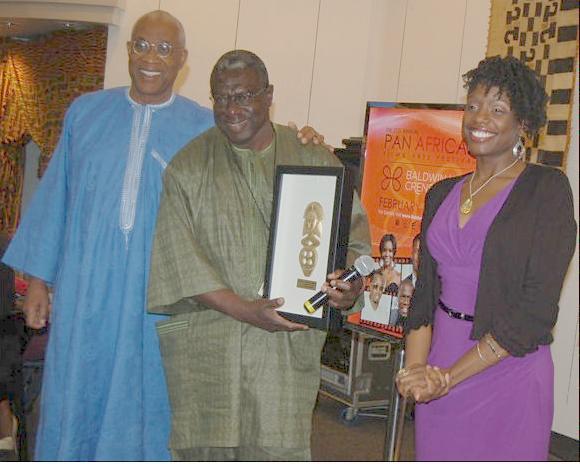 PAFF(Ayuko Babu,Djibril Ndoye and Rasheda Kilpatrick )