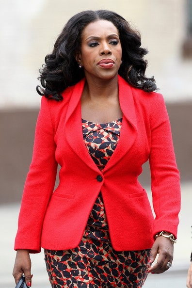 "Sheryl Lee Ralph is seen filming on the set of television show ""Smash"" in New York City. (August 21, 2012)"
