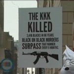 Black Man Stands In KKK Outfit Against Black on Black Crime (Video)